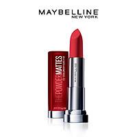 Son Lì Nhẹ Môi Dưỡng Môi Maybelline New York Color Sensational The Powder Mattes Lipstick 3.9g