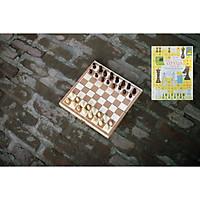 Bộ cờ vua cao cấp bằng gỗ tự nhiên an toàn cho bé, đồ chơi phát triển trí tuệ cho trẻ em - Tặng hướng dẫn đánh cờ vua giỏi.
