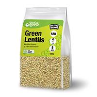 Đậu lăng xanh Green Lentils Absolute Organic  túi 400g