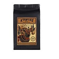 Cà phê dạng hạt bán buôn tiết kiệm dùng cho quán cà phê pha máy espresso K PHIEU mỗi túi 1kg ( Có lựa chọn dùng thử gói 250gr)
