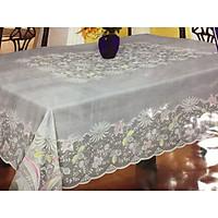 Khăn trải bàn 150x225cm họa tiết sang trọng
