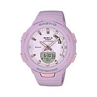 Đồng hồ nữ dây nhựa Casio Baby-G chính hãng BSA-B100-4A2DR