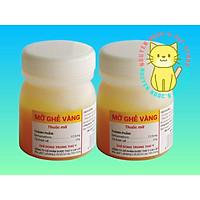 Mỡ Ghẻ Vàng Cai Lậy - Mỡ bôi ngoài da ngăn ngừa ghẻ cho Chó Mèo