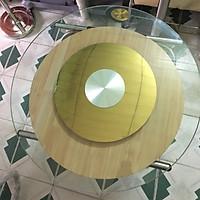 Mâm xoay bàn ăn inox vàng 304 (BMX11)