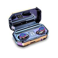 M12 TWS Earbuds BT5.0 True Wireless Headphones Mini Smart In-Ear Headset with Mic Charging Box Digital Display Pick Up