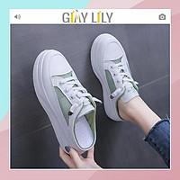 Giày sục LILY thể thao phối lưới siêu thoáng mát cho mùa hè thời trang