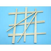 10 Túi  đũa tách gỗ mỡ đã luộc sấy khử trùng (1 túi gồm 100 đôi)