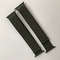 Dây đeo Sport loop cho Apple Watch màu xám series 1.2.3.4