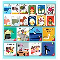 COMBO NHỮNG CUỐN SÁCH ĐẦU ĐỜI CỦA TRẺ - Tuyển tập sách tương tác - Ehon Nhật Bản