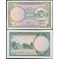 Tiền Xưa Việt Nam 1 Đồng Đền Hùng [Tiền Xưa Sưu Tầm]