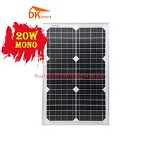 Tấm Pin Năng Lượng Mặt Trời Mini Mono 20W