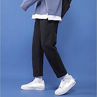 Quần Jeans, baggy đen nam ống suông, rộng, hottrend 2021