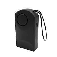 Wireless Door Alarm Door Handle Knob Hanging Alarm Motion Detector Black