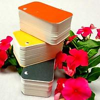 500 thẻ Flashcard Trắng học tiếng Nhật 4x7cm bo 4 góc - Flashcard Phan Liên