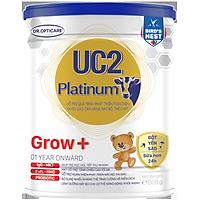 Sữa bột UC2 Platinum Grow+ 800g (giúp bé phát triển chiều cao tối ưu, dành cho trẻ từ 1 tuổi trở lên)