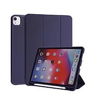 Bao Da Case Cover Có Khe Cắm Apple Pencil Dành Cho iPad đủ dòng, nhiều màu sắc