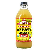 Giấm táo hữu cơ Organic Bragg (473ml)