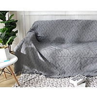 Thảm Sofa, Thảm Trang Trí, Khăn Phủ Sofa Phong cách Bắc Âu  90*90