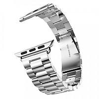 Dây đồng hồ cho Apple Watch, Dây Classic 3 mắt thép không gỉ cho đồng hồ Apple Watch
