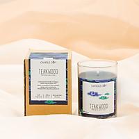 Nến Thơm Thiên Nhiên - Mùi Teakwood