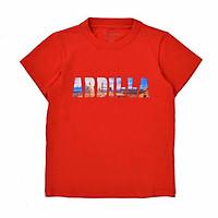 Áo Phông Bé Trai In Chữ 3D Ardilla 01BS18 - Đỏ