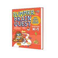 Summer Brain Quest K&1 - sách phát triển tư duy - Genbooks ( Tiếng Anh )