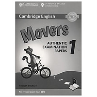 Cambridge English Movers 1 for Revised Exam from 2018 Ans Booklet