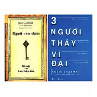Combo Người Nam Châm - Bí Mật Của Luật Hấp Dẫn (Tái Bản) +  Ba Người Thầy Vĩ Đại (Tái Bản)