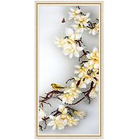 Decal hoa đẹp trang trí tường LV-0236