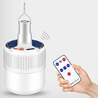 Bóng đèn led tích điện có điều khiển, công suất 100 W, 2 chế độ sạc