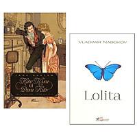 Combo Kiêu Hãnh Và Định Kiến + Lolita (2 cuốn Tiểu thuyết lãng mạn đặc sắc/ Tặng kèm Bookmark Happy Life)