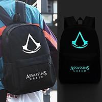 Balo logo dạ quang Assassins Creed