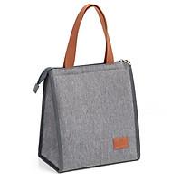 Túi đựng hộp cơm giữ nhiệt/ Túi đựng đồ ăn trưa/ Túi chống toả nhiệt, dày dặn, có tay xách, phong cách Hàn Quốc thời trang, hiện đại Ver.6