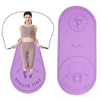 Jump Rope Mat Fitness Yoga Pilates Knee Protect Skipping Mats