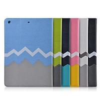 Sleep Fashion Protective Case For iPad air/ iPad6 Blue
