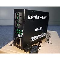 Media Convector 2 sợi 10/100Base BTON BT-950SM-25. Hàng nhập khẩu