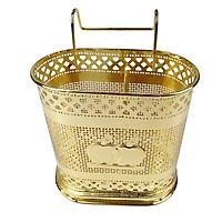 Giỏ treo đũa mạ vàng cao cấp GS0092
