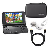 Combo Máy chơi game GPD XD Plus kèm case bảo vệ, cáp xuất HDMI, tai nghe - Hàng nhập khẩu