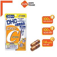 Viên Uống Bổ Sung Vitamin C DHC Hard Capsule Tăng Sức Đề Kháng