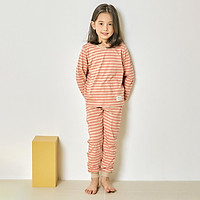 Bộ đồ dài tay mặc nhà cotton mịn cho bé gái U1006 - Unifriend Hàn Quốc, Cotton Organic