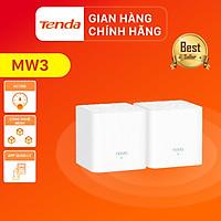 Hệ thống Wifi Nova Mesh cho gia đình Tenda MW3 Chuẩn AC 1200Mbps 2 pack - Hàng Chính Hãng