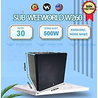Loa sub điện W260 Bass 30 - Hàng chính hãng