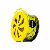 Sáp thơm ô tô Aroma Car Organic 40g - Vanilla (Hương Vani )