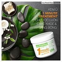 Alphatra Classic | Kem ủ 1 phút | Mùi phấn | 500ml