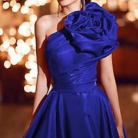 Đầm maxi dự tiệc dạ hội kết hoa hồng vai TRIPBLE T DRESS - size M/L -MS68Y