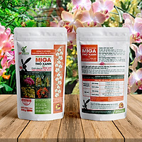 Phân hữu cơ chuyên cho Lan (tạo nhánh, ra hoa) - Thỏ Xanh MIGA (300g)