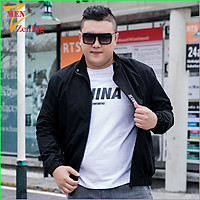 Áo Khoác Nam Big Size Dành Cho Người Mập, Người Béo Bụng To từ 80kg-140kg