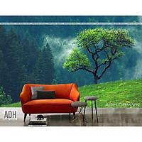 Tranh dán tường phong cảnh rừng núi ADHW110734