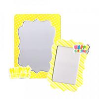 2 khung hình giấy để bàn trang trí sinh nhật