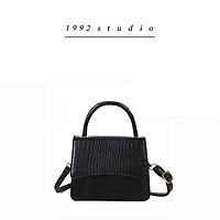Túi xách nữ/ 1992 s t u d i o/ BINNY BAG/ màu đen